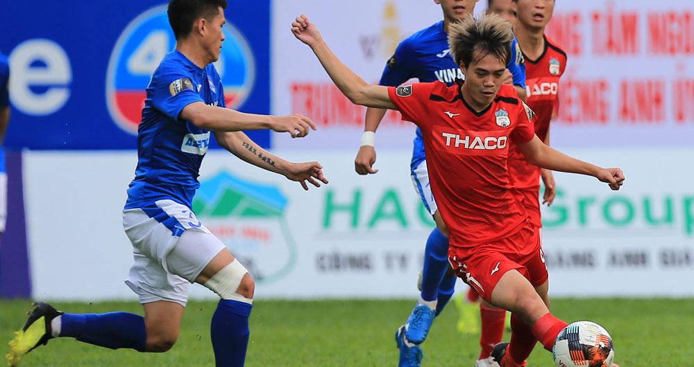 Bóng đá Việt Nam hôm nay: HAGL, Hà Nội đang chịu thiệt. Duy Mạnh tập phục hồi ở PVF