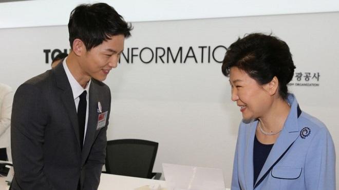 Tổng thống bị phế truất Park Geun Hye hết lòng nâng đỡ Song Joong Ki?