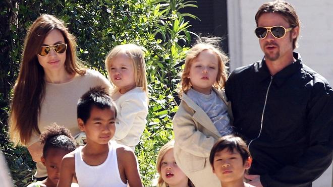 Các con cầu xin Angelina Jolie mời Brad Pitt tới tiệc sinh nhật cô