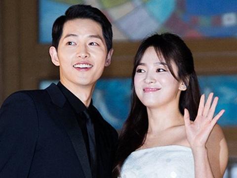 Ảnh cũ chứng minh Song Joong Ki và Song Hye Kyo đúng là duyên trời định