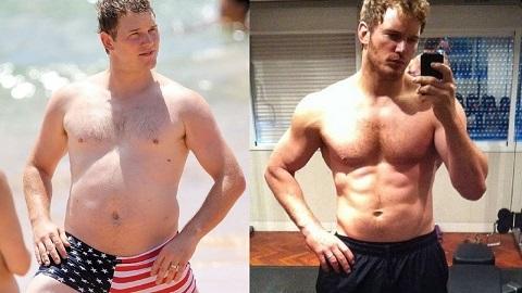 Kết quả hình ảnh cho Chris Pratt béo phì