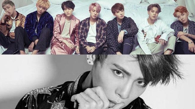 BTS và Jong Hyun cùng được xướng tên trong danh sách những album hàng đầu thế giới