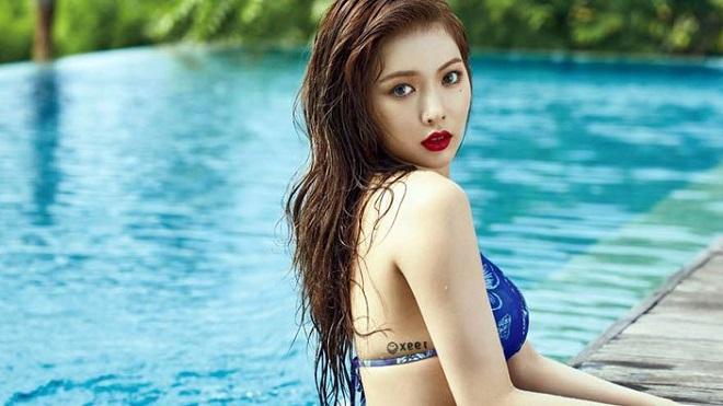 'Rụng tim' trước những thân hình nóng bỏng, quyến rũ nhất của các ngôi sao Hàn Quốc