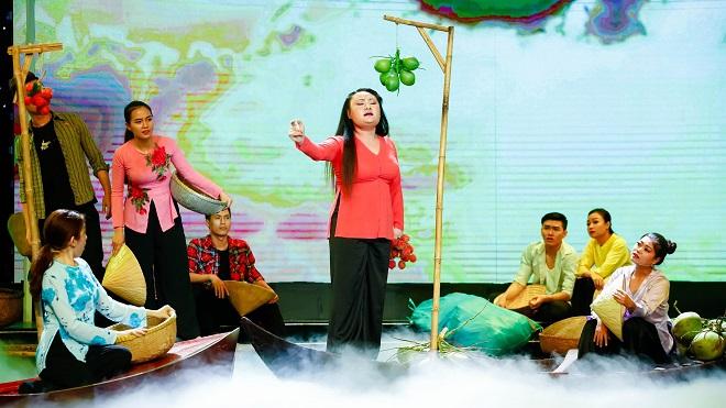 Sao nối ngôi mùa 3: Xử lý sự cố đứt dây đàn, Phạm Huyền Trâm bản lĩnh giành nhất tuần đầu tiên
