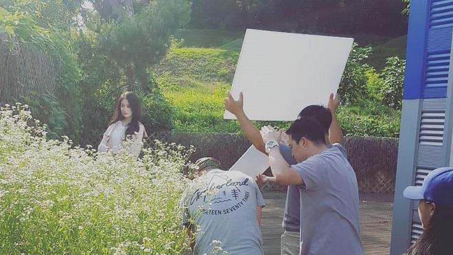 Rò rỉ hình ảnh MV Jiyeon T-ara quay cùng Soobin Hoàng Sơn ở Hàn Quốc