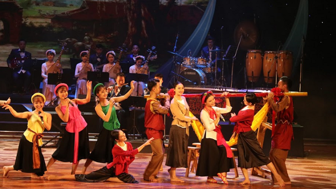 Bế mạc Liên hoan Ca múa nhạc toàn quốc 2018: Bức tranh nghệ thuật đa sắc màu