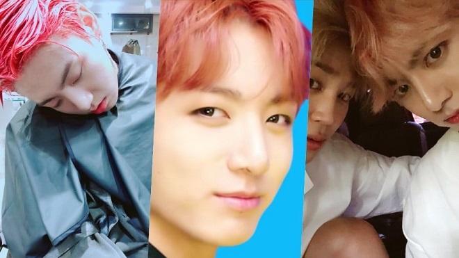 Các huynh BTS thi nhau đăng ảnh 'dìm hàng' Jungkook nhân sinh nhật cậu út