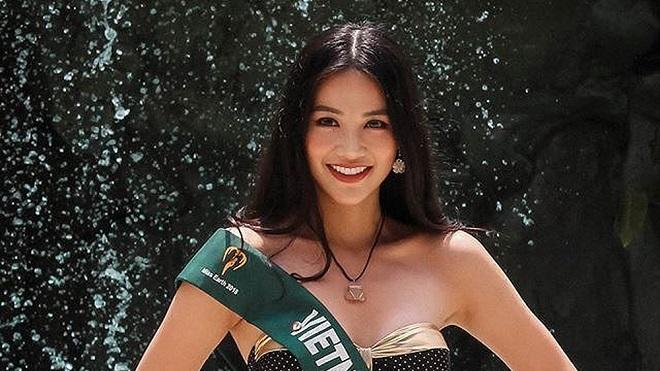 VIDEO: Phương Khánh tự tin đăng quang Hoa hậu Trái đất 2018 nhờ bắn tiếng Anh như gió