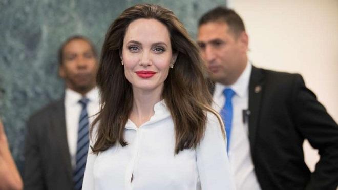 Angelina Jolie không giấu tham vọng tiếp bước Donald Trump trở thành Tổng thống Mỹ