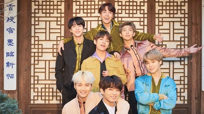BTS lọt Top 10 nhóm nhạc nam hay nhất mọi thời đại theo bình chọn của báo Mỹ