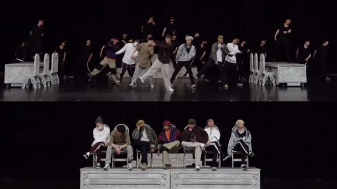 BTS khoe video vũ đạo 'Dionysus', gắt không kém gì lời bài hát