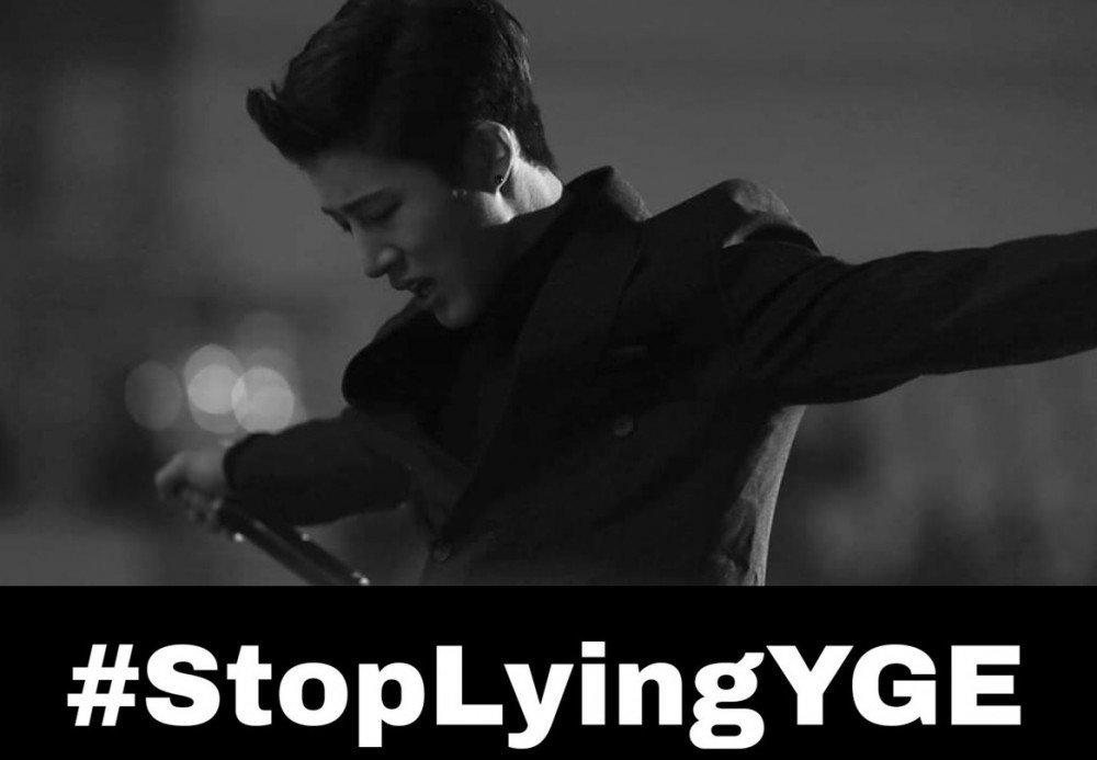 B.I rời iKon, Eun Jiwon, Seungri, Jung Joon Young, #StopLyingYGE, Hanbin