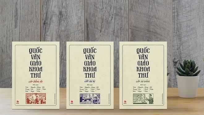 Tái bản bộ sách giáo khoa quốc văn đầu tiên của Việt Nam