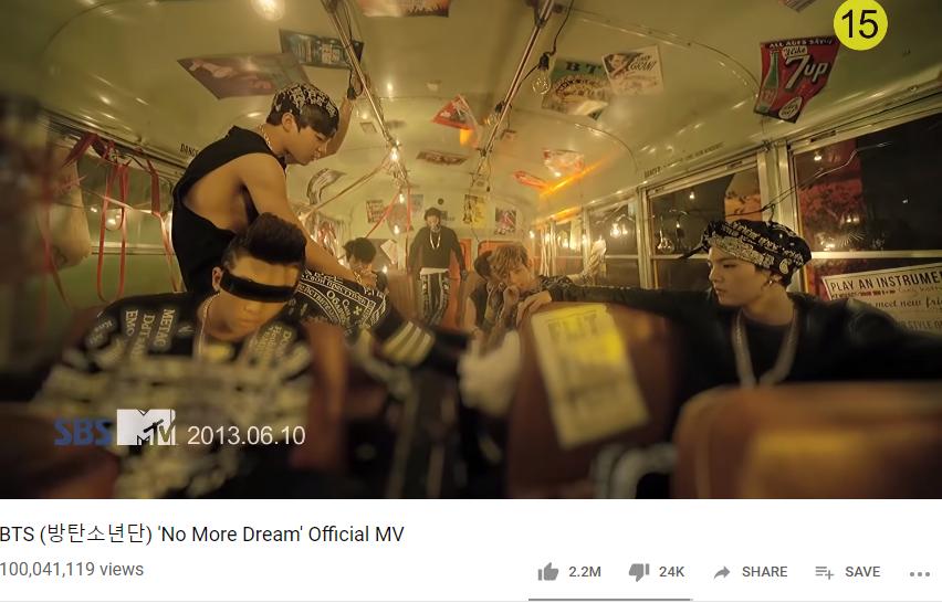 BTS, No More Dream BTS, No More Dream của BTS đạt 100 triệu view, BTS Blackpink, Bts, Bts, bts, BTS youtube, BTS MV, BTS tin tức mới, BTS Không thua kém Blackpink