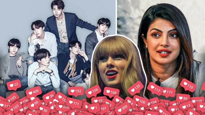 BTS có đông người theo dõi trên mạng nhưng gần nửa là tài khoản ảo