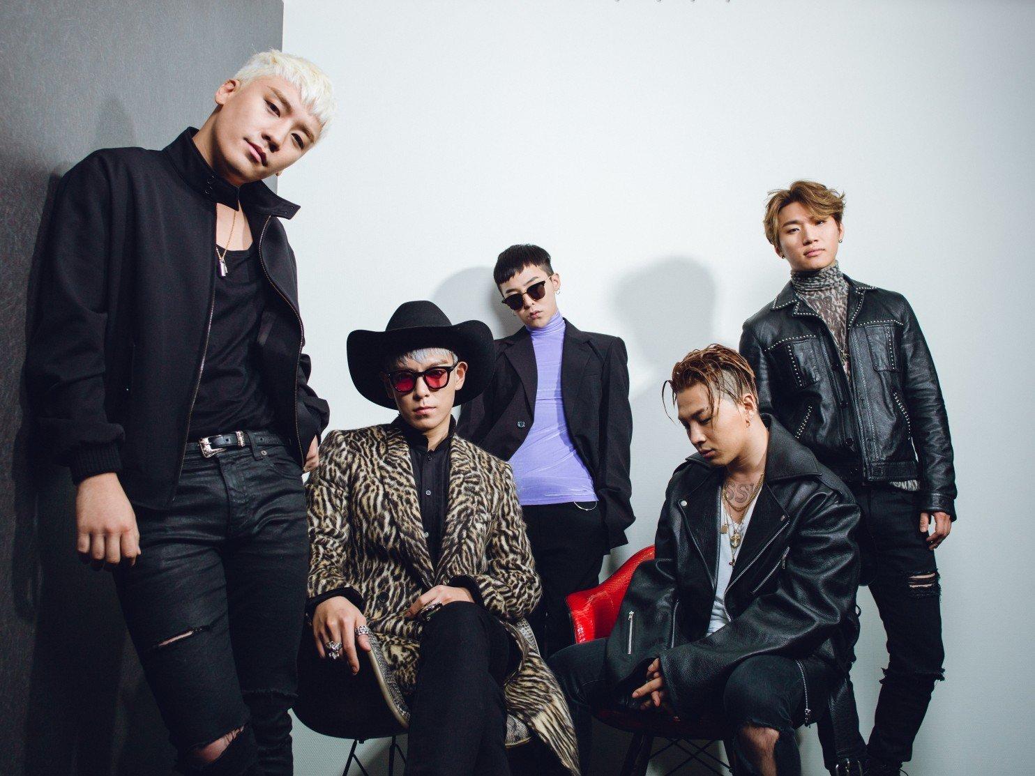 Bigbang, G-Dragon. T.O.P trở lại, Bigbang bị tẩy chay, G-Dragon xuất ngũ, YG Entertaiment, Taeyang