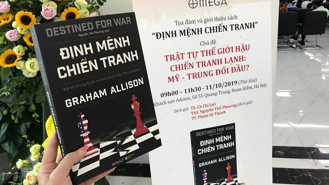 Sách 'Định mệnh chiến tranh' của Graham Allison: Mỹ và Trung Quốc có tránh được 'bẫy Thucydides' đáng sợ của lịch sử?
