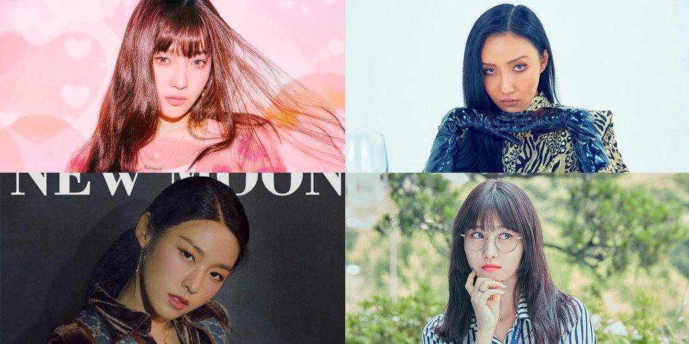 Blackpink, BXH Nữ thần tượng Blackpink tiếp tục mờ nhạt, Twice, Red Velvet, Momo Twice