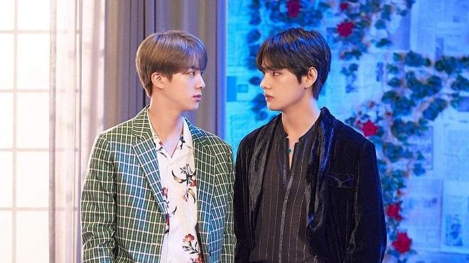 Theo chiêm tinh, Jin và V BTS sinh ra là để dành cho nhau