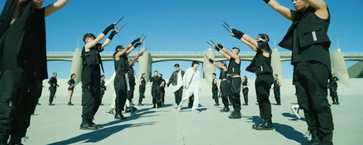 BTS, Bts, Map of the Soul 7. MV ON của BTS. Vũ đạo của Jungkook trong 'ON', bts phát hành Map of the Soul 7, album Map of the Soul 7 của bts