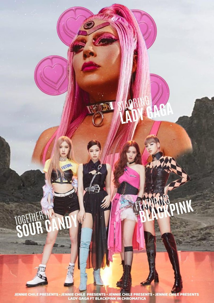 Lady Gaga, Blackpink, Sour Candy, Tung sớm Sour Candy