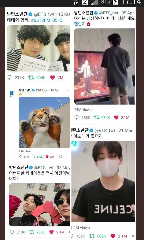 V BTS, V lập kỷ lục trên Twitter, V giúp ARMY khuây khỏa, Các bài viết của V, nỗ lực giúp ARMY khuây khỏa của V