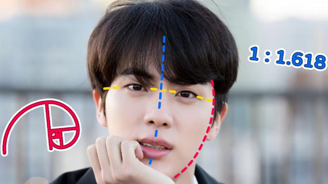 Jin BTS là 'Gương mặt nam hoàn hảo nhất thế giới' theo phân tích khoa học