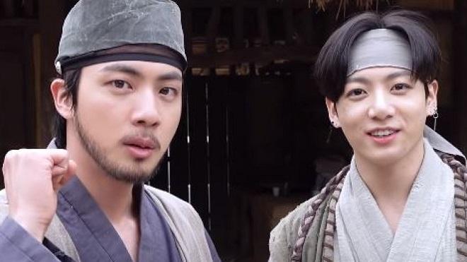 Cười bể bụng trước thái độ 'man rợ' của Jungkook BTS với Jin