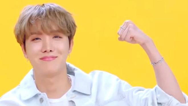 J-Hope BTS tiết lộ bí mật để sống siêu tích cực và tràn trề năng lượng