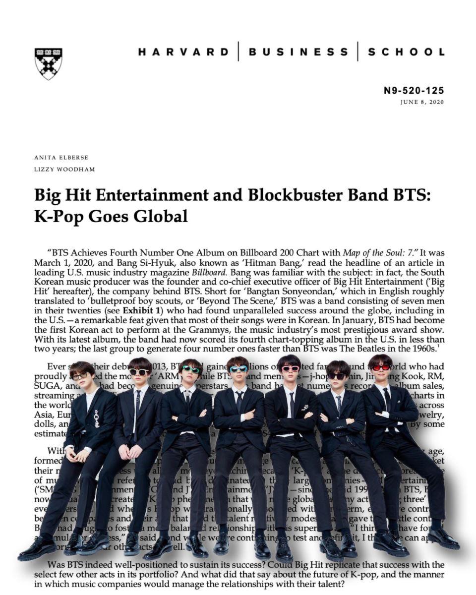 BTS, Đại học Harvard phân tích thành công của BTS, Harvard mổ xẻ BTS, BTS RM, Trường Kinh doanh Harvard nghiên cứu về BTS, BTS tin tức mới, BTS tin tức, BTS Jimin