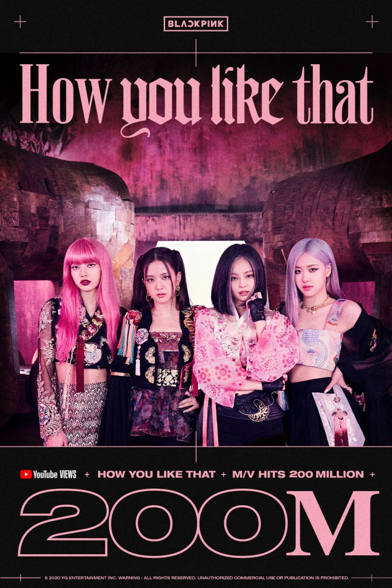 How You Like That, Blackpink, How You Like That lập kỷ lục mới, Taylor Swift, Kill This Love, Look What You Mek Me Do, Boombayah, As If It's Your Last, Playing with Fire