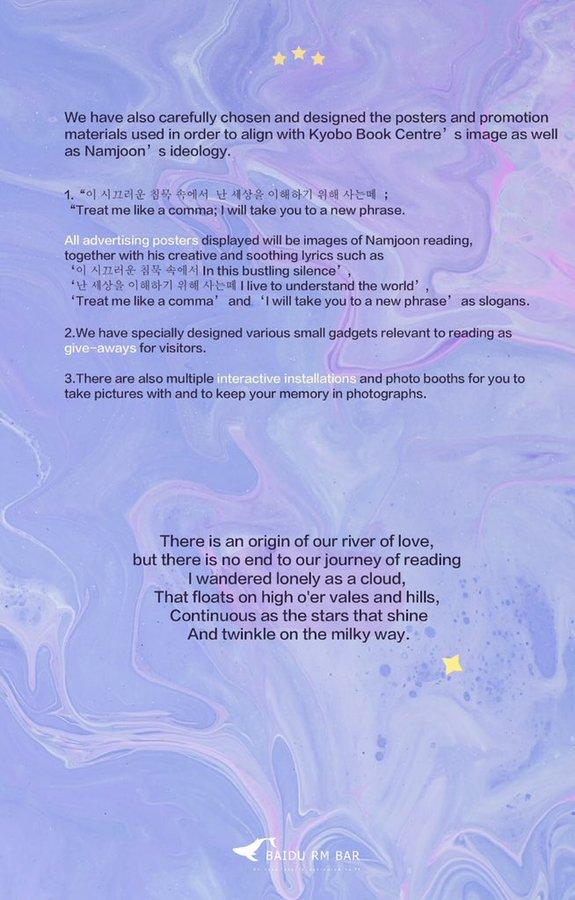 BTS, RM BTS, Nhà sách lớn nhất Hàn Quốc để mừng sinh nhật RM, Sinh nhật RM, Kyobo Books mừng sinh nhật RM, RM nổi tiếng là yêu sách, RM đọc sách, bài hát của RM và BTS