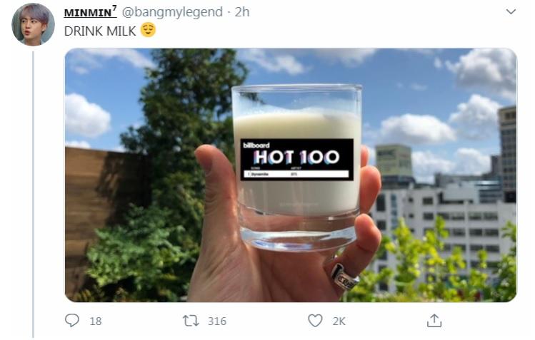 BTS, Jungkook yêu sữa, Loạt meme hài nhất của BTS hôm nay, MV Dynamite, vua cháy hàng Jungkook, ARMY, Kpop