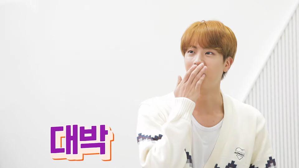 BTS, Jin BTS, Jin gặp thần tượng, phút trước bối rối phút sau đã trở mặt thế này, Jin Hit, tập 1 The MapleStory Originals | MapleStory X BTS