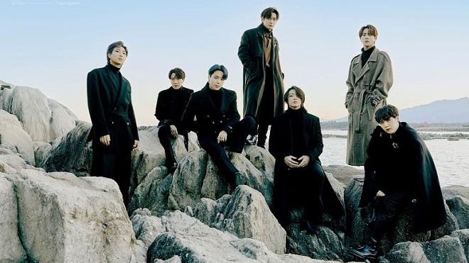 BTS tung bộ ảnh mùa đông, Jungkook để tóc như hiệp khách