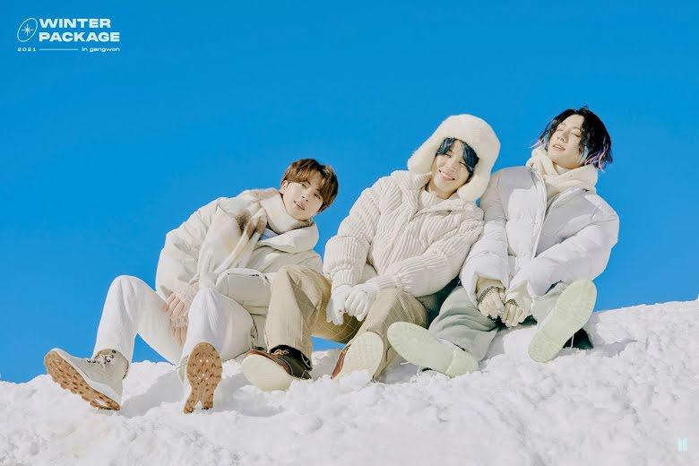 BTS, Hiệp khách Jungkook, Winter Package, BTS 2021, Ảnh BTS 2021, BTS ảnh màu đông 2021, BTS winter Package