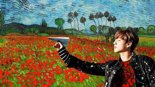 Jungkook BTS bỗng được báo tây xếp ngang hàng với Van Gogh