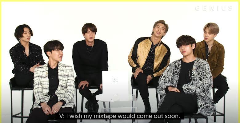 BTS, V, KTH1, Tất tần tật về KTH1, Hé lộ về KTH1, Mọi điều về KTH1, Blue & Grey, In The SOOP