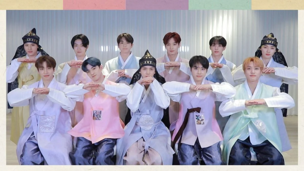 Kpop, BTS, TXT, Tân Sửu, Hanbok, NCT, Kpop đón Tân Sửu, Idol mặc hanbok 2021, Kpop tết nguyên đán, BTS tết tân sửu, BTS tết nguyên đán 2021