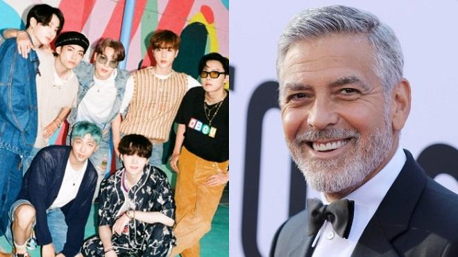 George Clooney bất ngờ biến 'Dynamite' của BTS thành kịch bản phim