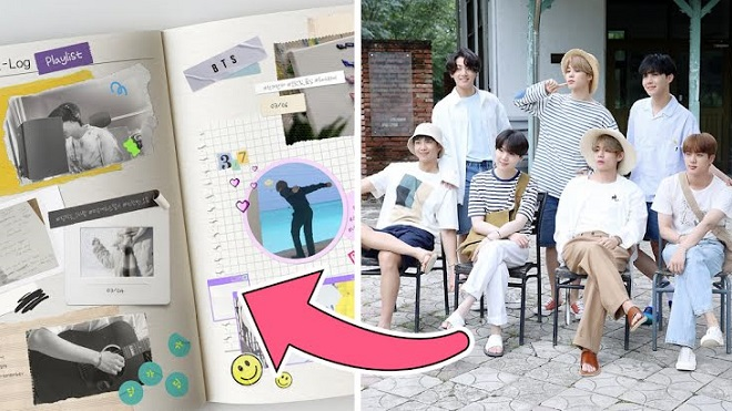 Đã có lịch nhật ký cá nhân của BTS, nghe tên đã thấy kích thích