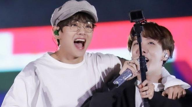 J-Hope BTS ngượng chín mặt khi nghe V khen ngợi
