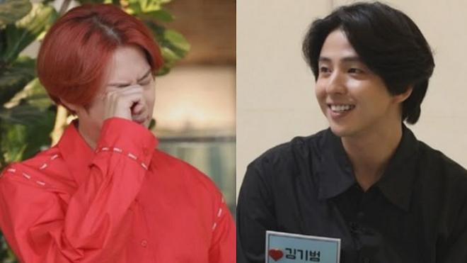 Heechul Super Junior vỡ òa khi gặp lại Kibum sau 10 năm xa cách