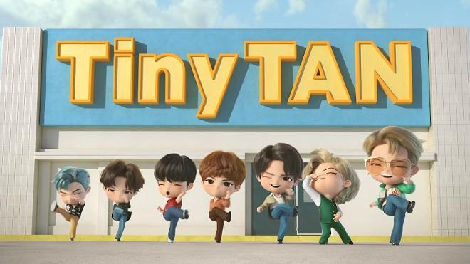 TinyTAN của BTS trở lại với trang phục 'Dynamite' siêu bảnh chọe