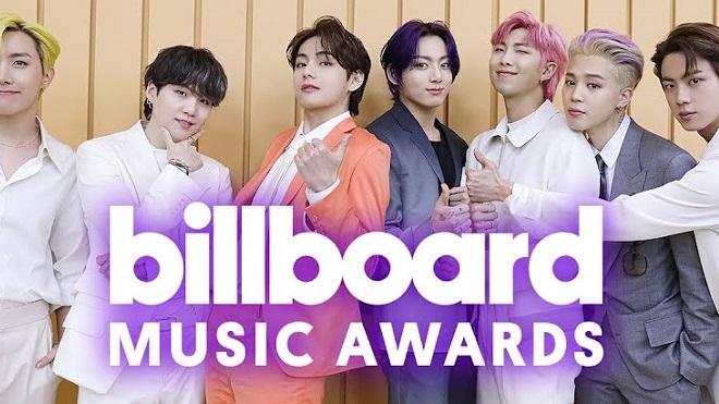 BTS thắng liền 4 giải tại Billboard 2021