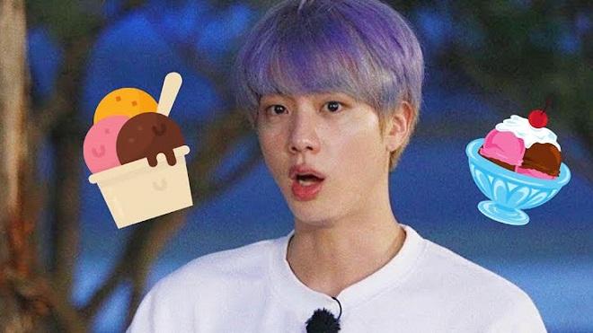 BTS: Jin thèm món kem tới mức phải xuống nước xin xỏ Jimin