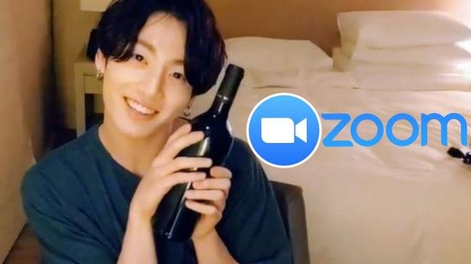 'Va' phải Jungkook BTS trên zoom, người lớn phản ứng không ngờ