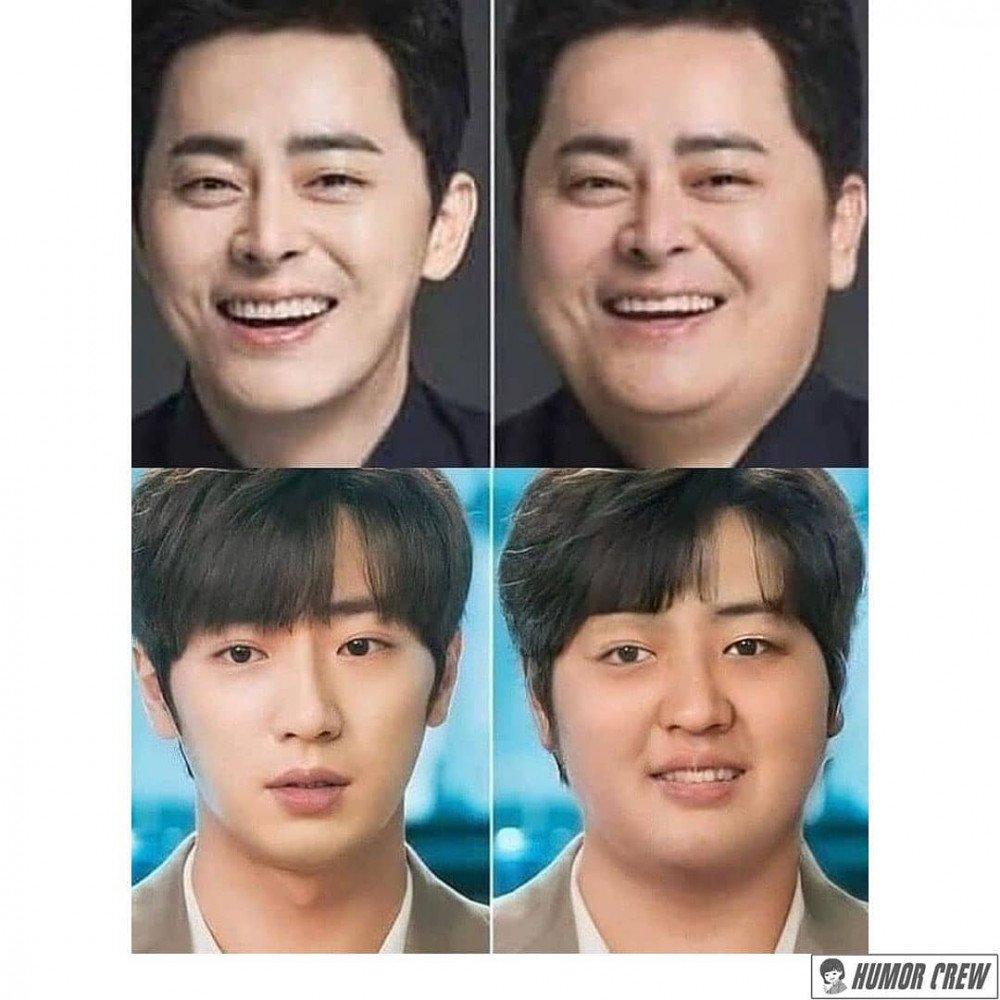 BTS, xinh đẹp sau giảm cân, tác hại của thừa cân, giảm cân là phẫu thuật thẩm mỹ, lột xác sau giảm cân, trước sau giảm cân, đẹp sau giảm cân, nam thần khi béo phì