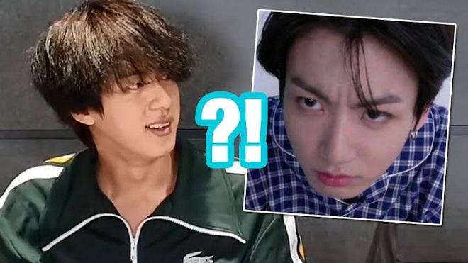 Chết cười với bí mật của Jin BTS về Jungkook