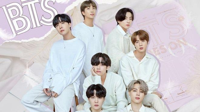BTS như các hoàng tử trong bộ ảnh mới của Dispatch